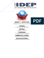 IMPLEMENTACIÓN DEL MANUAL DE OPERACIÓN