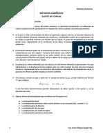 AJUSTE DE CURVAS PARTE 01