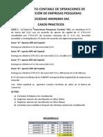 TRATAMIENTO CONTABLE DE OPERACIONES DE CONSTITUCIÓN DE EMPRESAS SOCIETARIAS
