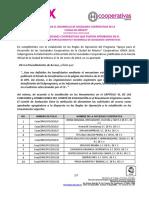 Sociedades Cooperativas aprobadas en el Subprograma de Fortalecimiento y Desarrollo de Sociedades Cooperativas 2018 (2)