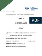 INSPECCIONES TAREA  N°3