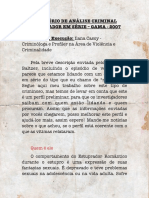 ANÁLISE CRIMINAL ESTUPRADOR EM SÉRIE GAMA 2007