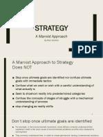 Marxist Strategy - CPUSA