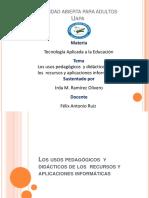 HERRAMINETAS WEB2.0 CARACTERISTICAS PEDAGOGICAS
