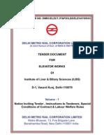 Delhi Metrorail Tender Documents Volume-1