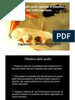 Impatto ambientale delle capsule in plastica per caffè espresso