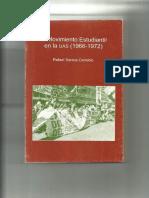 Rafael Santos Cenobio El Movimiento Estudiantil en La Uas 1966-1972