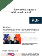 Guerra internacional y guerra civil