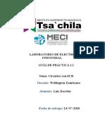 LABORATORIO DE ELECTRÓNICA INDUSTRIAL
