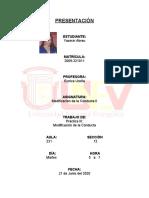 Yasmin - Modificacion de la Conducta - Practica III