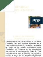 HOJA DE VIDA O CURRICULUM VITAE.pptx