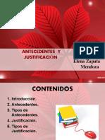 ANTECEDENTES Y JUSTIFICACIÓN (1)
