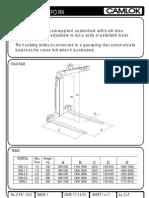 Camlok Data Sheet Crane Fork