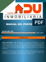 MANUAL DEL PROPIETARIO (MAR 1R)