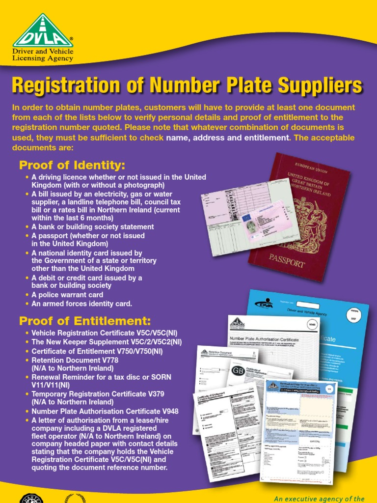 Number Plate Suppliers >> Documents Required For Vehicle Number Plate 144 Views