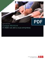 ABB_Cursos Técnicos_Folheto_2014