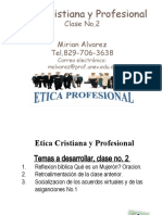 Etica Cristiana y Profesional 2