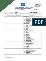 Advanced Safety Audit(Format)