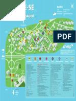 mapa campus unesp bauru