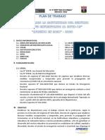 PLAN DE TRABAJO A DISTANCIA IE 81618