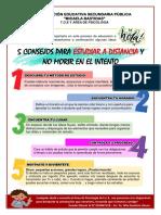 TIP 1 - 5 CONSEJOS PARA ESTUDIAR A DISTANCIA Y NO MORIR EN EL INTENTO