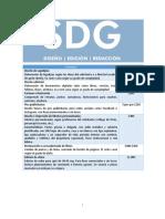 Servicios y costos SDG.doc