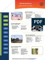 TRA Product Brochure - Revised