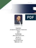 Tecnología de la Información y Comunicación 2 tarea 5