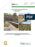 Burns--Impact Assessment of the Zimbabwe Dams and Gardens Project