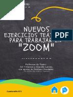 Cuadernillo N° 2 - Ejercicios Teatrales Para Trabajar en Zoom - Parte 2