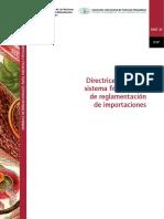Directrices sistema fitosanitario