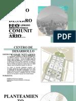ANTEPROYECTO URBANO ARQUITECTONICO - GRUPO 2F CENTRO DE DESARROLLO COMUNITARIO (1)