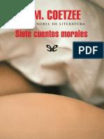 Siete cuentos morales - J. M. Coetzee.pdf