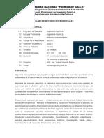 SILABO DE MÉTODOS INSTRUMENTALES