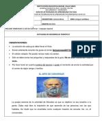 ACTIVIDAD LECTO ESCRITURA SEXTO - JULIO - Fanny Douglas