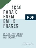 [e-book] Redação para o Enem em 15 frases.pdf
