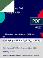 Estimating Company Beta assignment 2.pptx