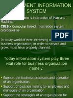 MANAGEMENT INFORMATION SYSTEM1