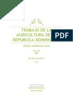 trabajo de la agricultura de la republica dominicana