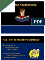 Akademikong Pagbasa