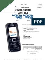 Nokia 3110c and 3109c Service Manual