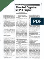 MRPII  Case