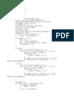 Alternate numsabers array program