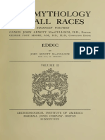 MacCULLOCH, JOHN ARNOTT (1930) Eddic mythology. CHAPTER 33 COSMOGONY AND THE DOOM OF THE GODS