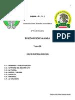 PROCESAL CIVIL TEMA 9
