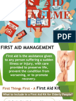 FIRST AID MANAGEMENT