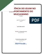 A INFLUÊNCIA DO JEJUM NO COMPORTAMENTO DO MUÇULMANO