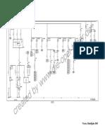 Schemat instalacji elektrycznej Vivaro MJ03
