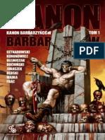 Kanon Barbarzyncow tom I - Antologia SF