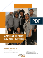 Good to the SOUL, LLC 2019_2020 Annual Report FINAL